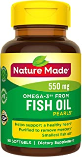 Nature Made Omega-3 Pearls, 500 mg Softgels 90 ea (Pack of 2)