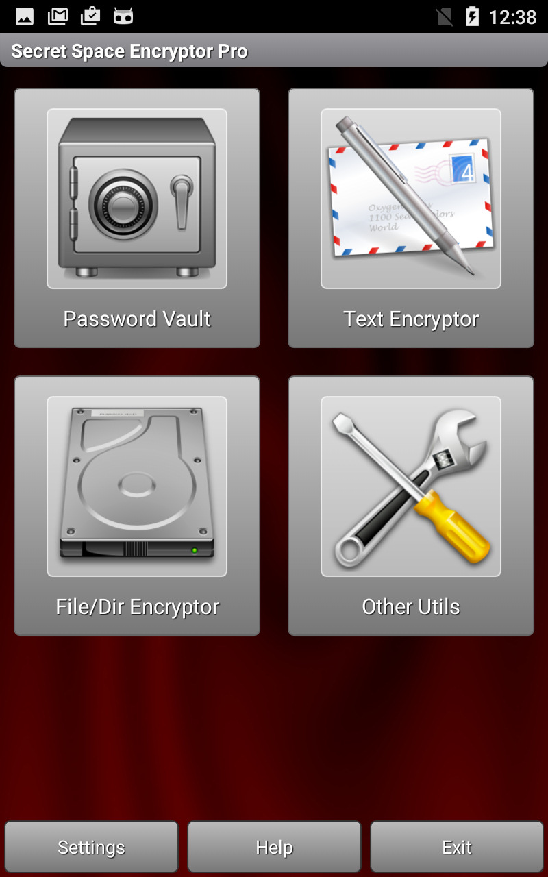 S.S.E. Universal Encrypter (Password Manager, Text Encryption, File Encryption)