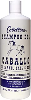Cabellina Shampoo del Caballo, Cleansing Shampoo, Helps Prevent Hair Loss with Horsetail Plant Extract, Volume and Shine t...