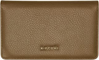 Rip Curl Women's Troubadour Cheque Book Wallet Pu Black