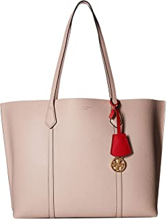 Tory Burch Women's Small Perry Triple Compartment Tote Handbag Shell Pink