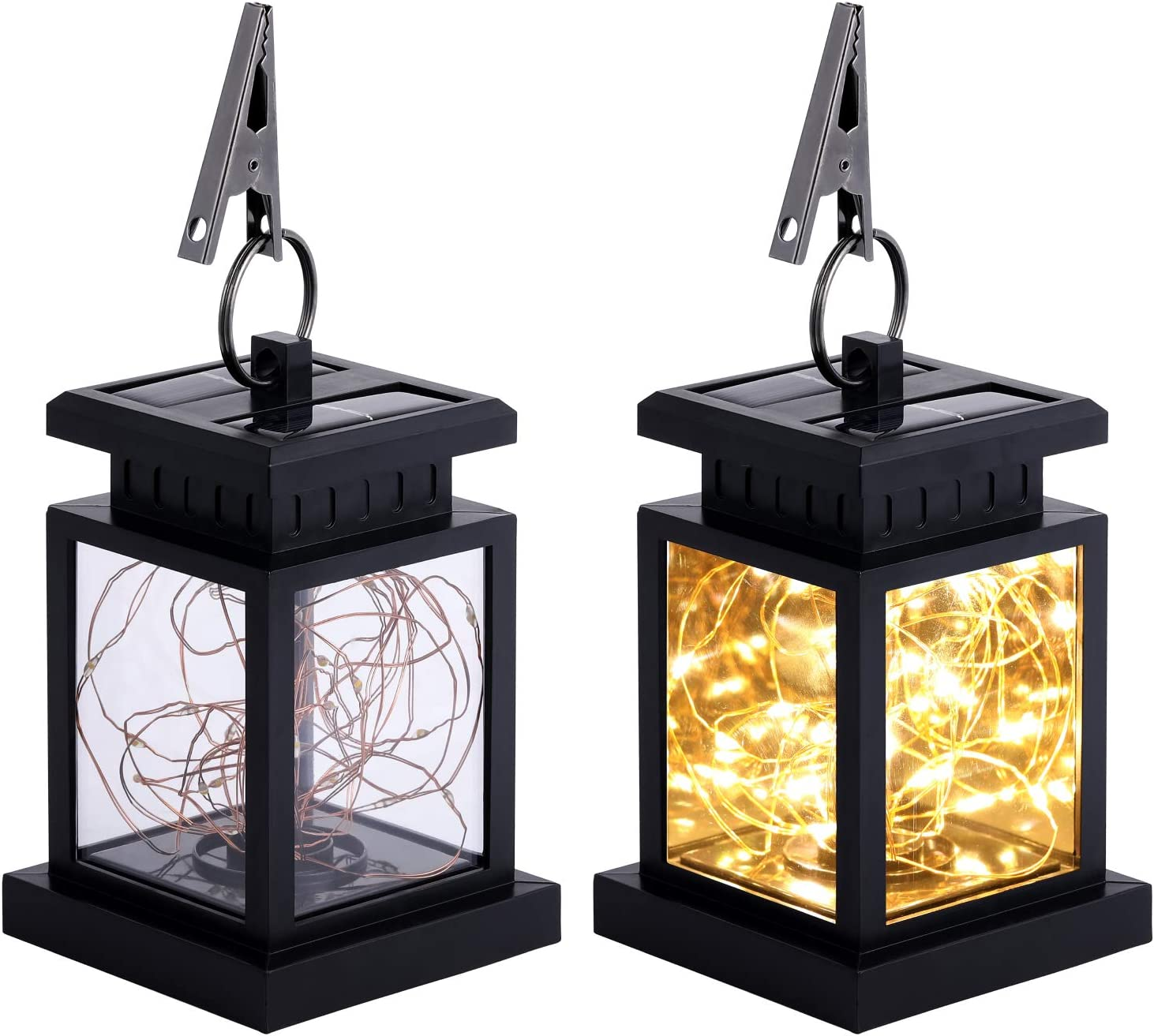 Solar Lanterns Baltimore Mall Outdoor Hanging Waterproof Easy-to-use 30 Decorative LED Str