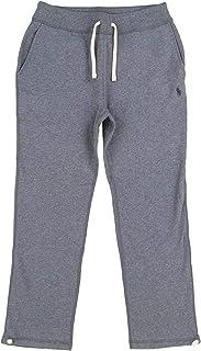 Polo Ralph Lauren Mens Fleece Athletic Pants (Medium, Grey Heather)