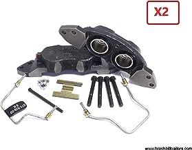 Dexter 8,000lb Axle Disc Brake Caliper & Brake Pad Kit for 1 axle (2) K71-630-00 & (1) K71-629-00