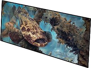 Caroline's Treasures Golden Goliath Grouper Indoor or Outdoor Runner Mat 28x58 doormats, Multicolor