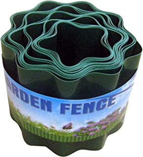 HYLAN 9 Meters Garden Fence Decorative Plastic Fence Recyclable Plastic Barrier Environmental Protection Protective Guard ...