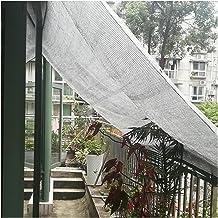 LIXIONG Sunblock schaduwdoek, 80% UV-bestendig outdoor zonnescherm zeil, scheurbestendige warmte-isolatie schaduwnet voor ...