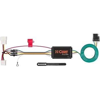 [QNCB_7524]  Amazon.com: CURT 56161 Vehicle-Side Custom 4-Pin Trailer Wiring Harness for  Select Honda Odyssey: Automotive | 2007 Honda Odyssey Trailer Wiring |  | Amazon.com