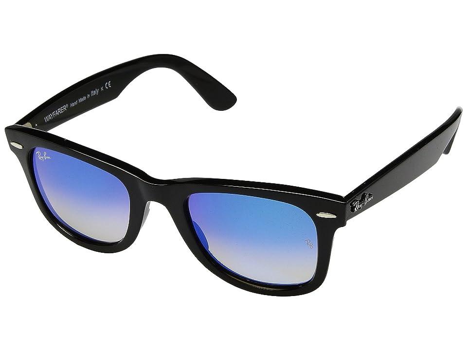 Ray-Ban Wayfarer Ease RB4340 50mm (Black/Brown Gradient Mirror) Fashion Sunglasses