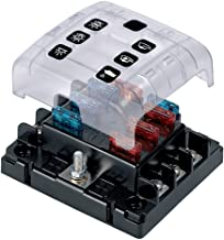 BEP ATC Six Way Fuse Holder Quick Connect with Cover and Link