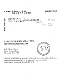 A Thruster Sub-System Module (TSSM) for solar electric propulsion (English Edition)