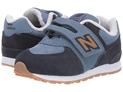 New Balance Kids IVC574v1-USA (Infant/Toddler) (Chambray/Eclipse) Boys Shoes