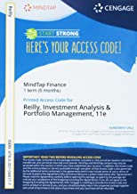 MindTap Finance 1 term (6 months) Printed Access Card for Reilly/Brown/Leeds' Investment Analysis and Portfolio Management, 11th