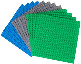 """Strictly Briks Classic Baseplates 100% Compatible with All Major Building Brick Brands 