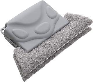 Cepillo de limpieza creativo para ranuras de ventanas, herramientas manuales para limpiar grietas, material de almohadilla...