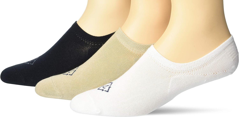 Sperry mens No Show 3 Pack Liner Socks