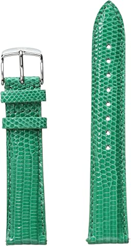 18mm Garden Lizard Strap Green