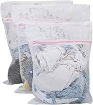 Hokipo Mesh Laundry Clothes Washing Bag, Pack Of 3