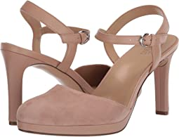 Barely Nude Suede/Leather