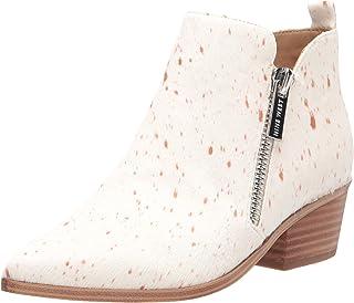 حذاء برقبة طويلة للكاحل للنساء من Nine West لون عاجي، 7. 5