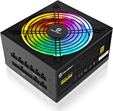 $129 » Power Supply, UtechSmart 850W Fully Modular 80 Plus Gold Certified PSU 850 PC Power Supply with 140mm Fan (Vairous Color M...