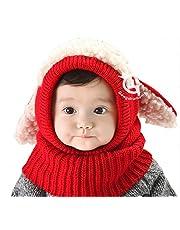 【On Dolce】選べる5色 うさぎちゃん風 ニット帽 ニット帽子 ベビー キッズ 赤ちゃん 子 子供 用 かわいい 防寒 BN005