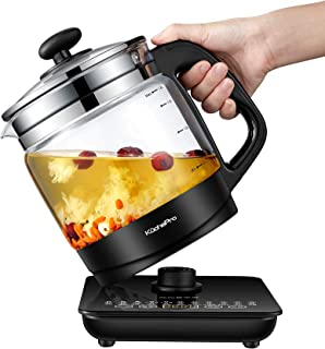 KUCHEPRO KPYSH1800 Health-Care Beverage Tea coffee Maker and Multi-Function Kettle, 22-in-1 Programmable Brew Cooker Maste...