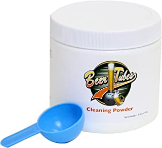 Beer Tubes Tube & Tap Cleaning Powder, 1 lb., White, (CLP1)