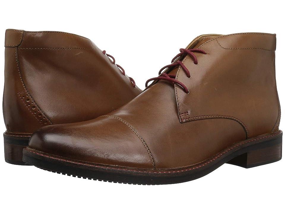 Bostonian Maxton Mid (Dark Tan Leather) Men