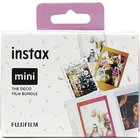Fujifilm instax - Película instantánea, deco bundle (3 x 10)