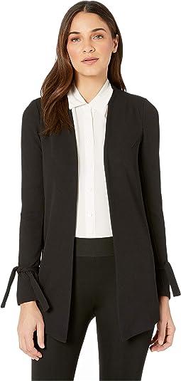 Tuxedo Knit Long Blazer Jacket