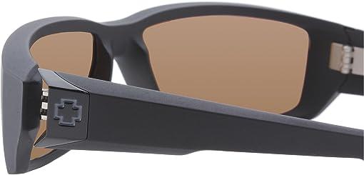 Matte Black/HD Plus Bronze Polar W/Green Spectra Mirror