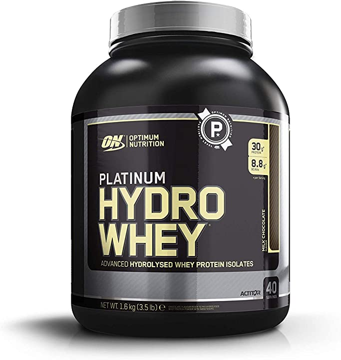 Proteine in polvere optimum nutrition hydrolyzed whey protein - barattolo da 1.59 kg 1076042