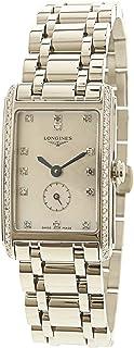 Longines Women's Dolcevita L52550876 Silver Stainless-Steel Swiss Quartz Dress Watch