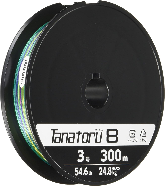 SHIMANO Discount is also underway Overseas parallel import regular item Tanatoru 8 Multicolor Braided PE PL-F78R Fishing - Line