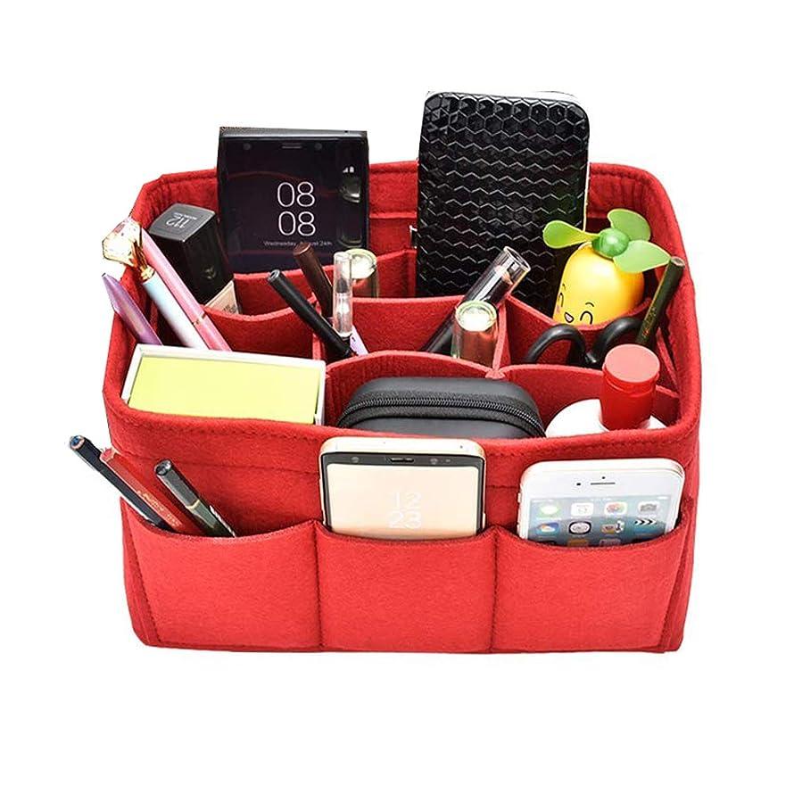 初心者ラリーハイランドバッグインバッグ 小物収納 バッグ インナーバッグ 高級 旅行/通勤/通学など用 収納便利グッズ