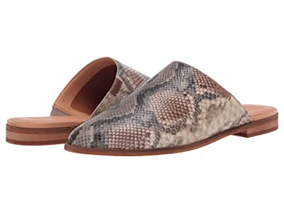 FRYE AND CO. Fenn Mule (Taupe Snake Embossed Leather) Women
