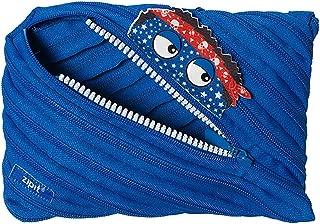 ZIPIT Talking Monstar Big Pencil Case, Blue