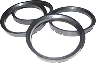 Pack of 4 76mm OD x 67.10mm ID Gorilla Automotive 76-6710 Wheel Hub Centric Rings