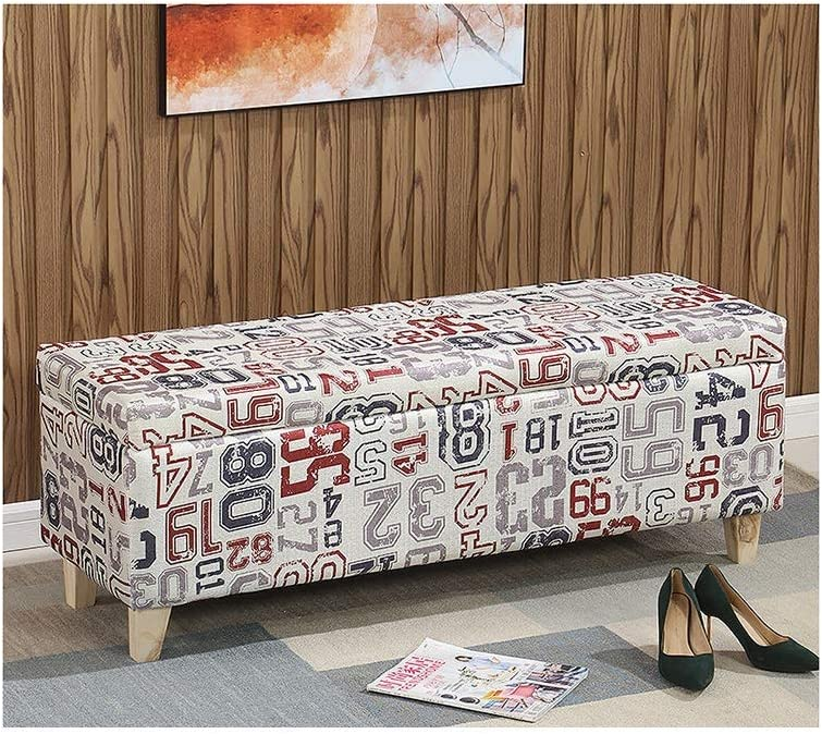 Discount is also underway YZZSJC Foldaway Ottoman Stool Storage Room Bedr for Living Portland Mall
