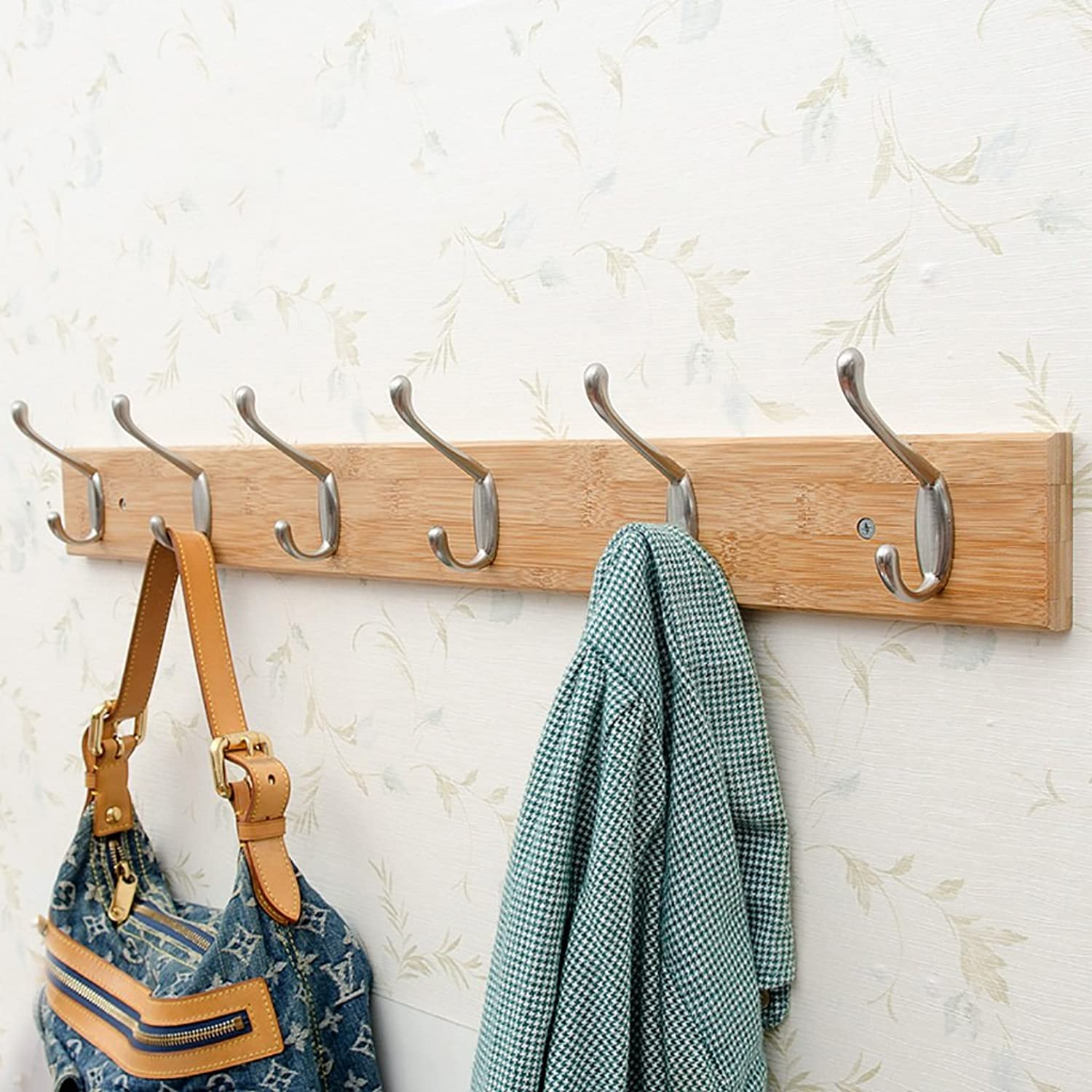 Coat Rack Creative Hook Wall Hanging Clothes Hook Wall Hanger Clothes Hook Behind The Door Bathroom Wall Hook (Size   D)