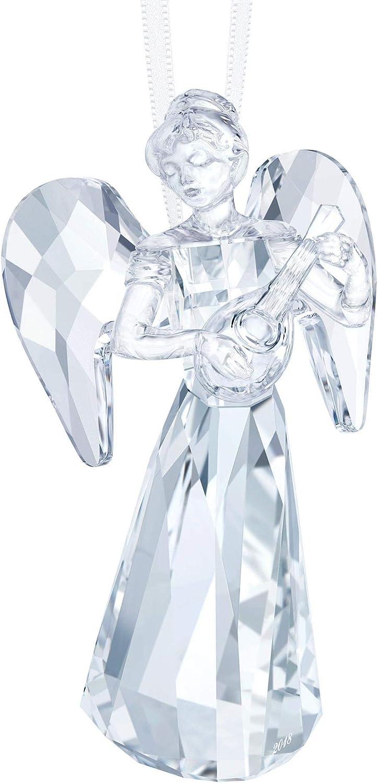 Swarovski Angel Ornament, A. E. 2018, Clear Crystal