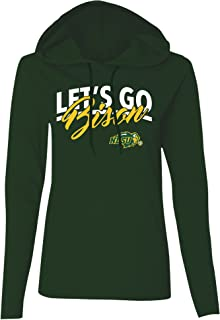 Old Varsity Brand NCAA Womens Long Sleeve Hooded T-Shirt