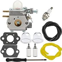 Dalom RM2510 Carburetor w Fuel Filter Primer Bulb for MTD Remington RM2599 Pole Saw RM4625 RM 2510 RM2520 RM2560 RM2570 String Trimmer Bolens BL110 BL160 Brushcutter Weed Eater bl425
