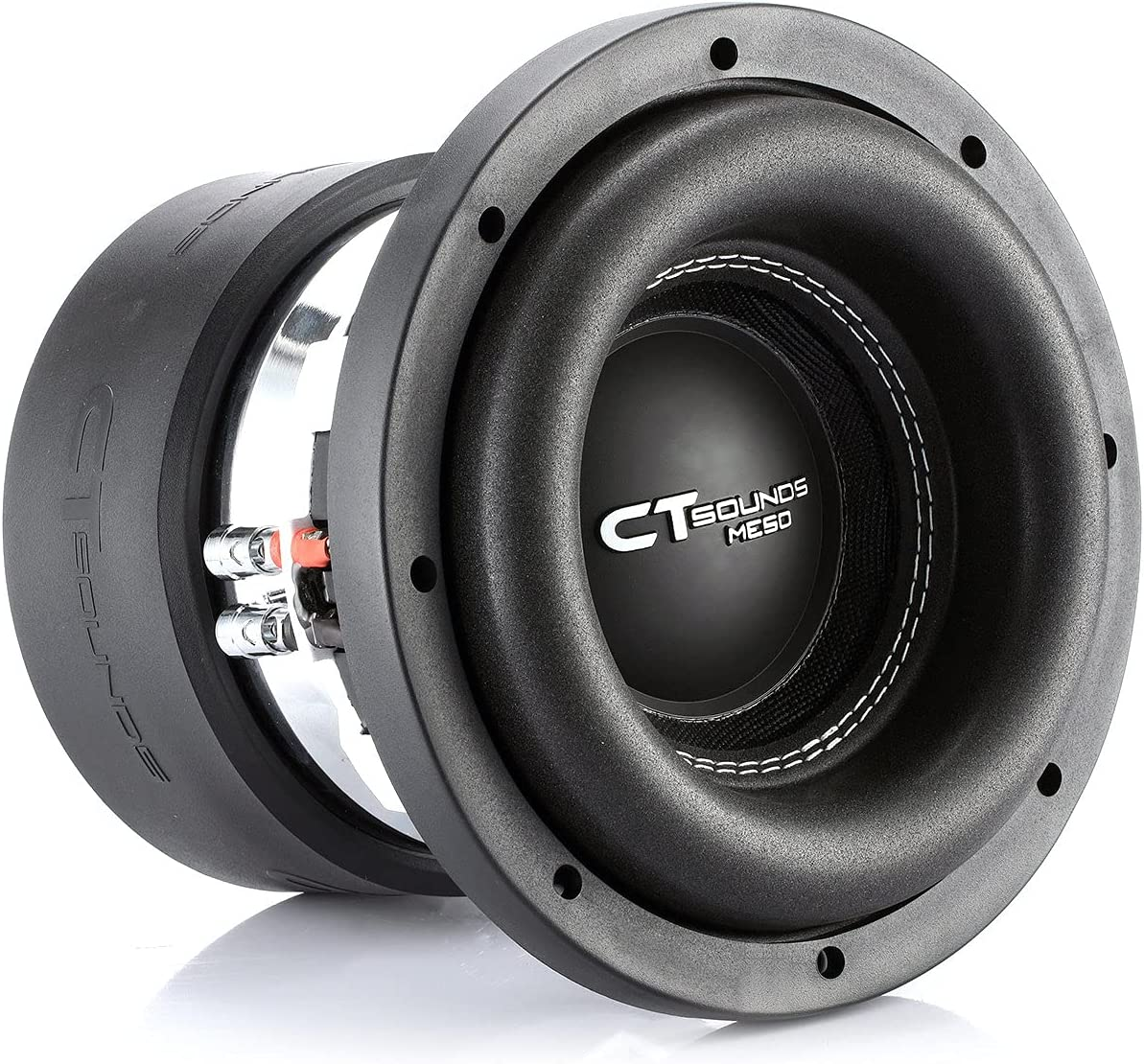 """CT Sounds MESO-8-D4 8"""" Car Subwoofer - Best 8-inch Subwoofers In 2021"""