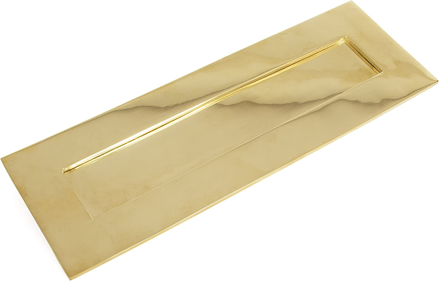From the Anvil 33050 2021 Letterplate-Polished Brass Large Omaha Mall Cast