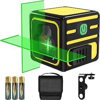 Sponsored Ad – Green Laser Level, papasbox 20M Self Leveling Horizontal and Vertical Cross Line Laser, Manual/Self-Levelin...
