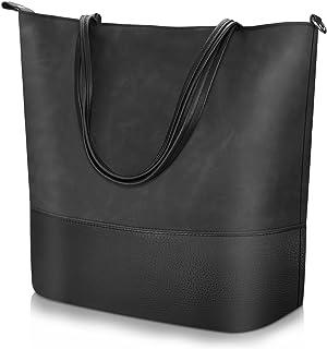 cb9e40ae Proking Mujer Bolso de Mano Grande Bolso de Hombro Bolso Tote Bag Bolsos  Shopper Bolso de