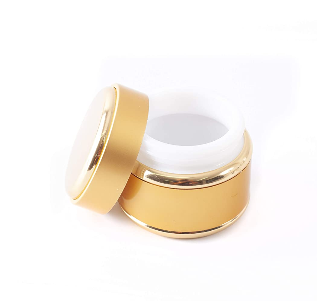 高いアート効率的Gold 50ml Kosma Jar x 112