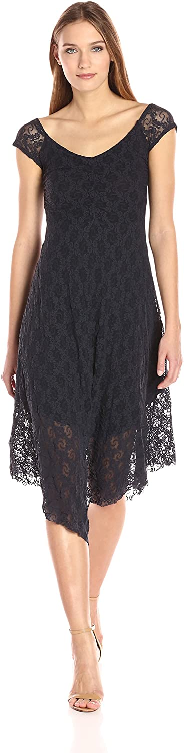 Only Hearts Womens Stretch Lace Off The Shouldre Dress Dress